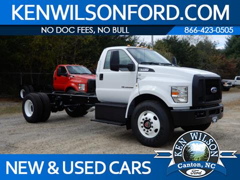 2019 Ford F-750 Super Duty for sale in Canton, NC