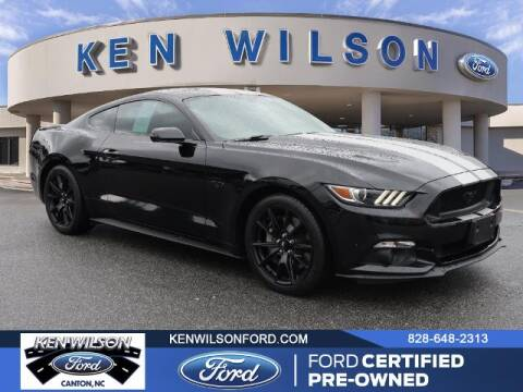 2017 Ford Mustang for sale at Ken Wilson Ford in Canton NC