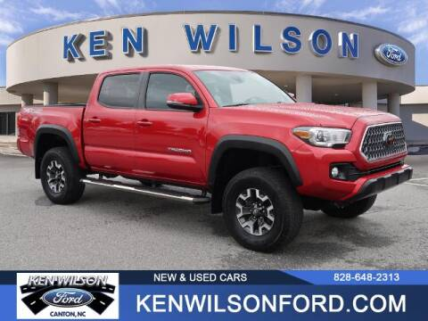 2018 Toyota Tacoma for sale at Ken Wilson Ford in Canton NC