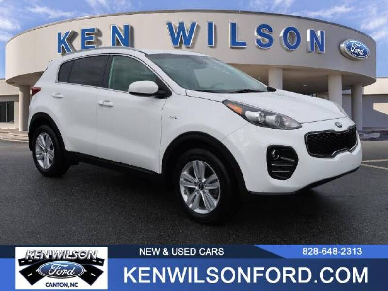 2017 Kia Sportage for sale at Ken Wilson Ford in Canton NC