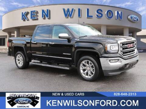 2018 GMC Sierra 1500 for sale at Ken Wilson Ford in Canton NC