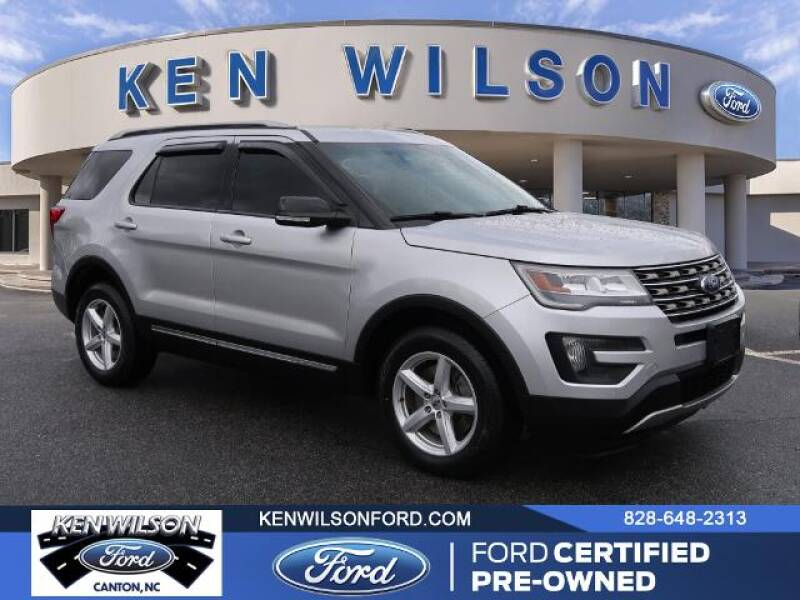 2016 Ford Explorer for sale at Ken Wilson Ford in Canton NC