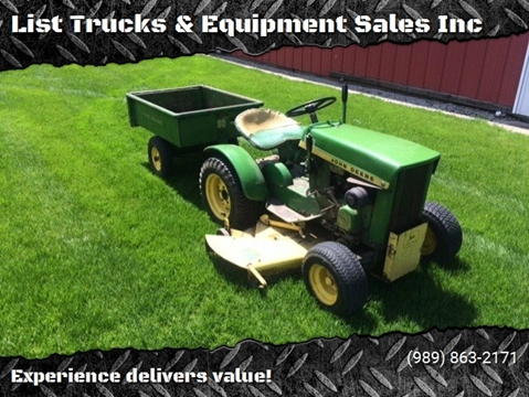1967 John Deere 112 for sale in Vassar, MI