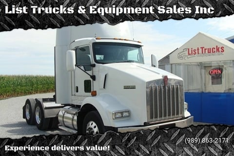 2009 Kenworth T800 for sale in Vassar, MI