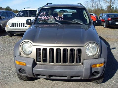 2003 Jeep Liberty for sale in Butler, GA