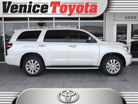 2019 Toyota Sequoia for sale in South Venice, FL