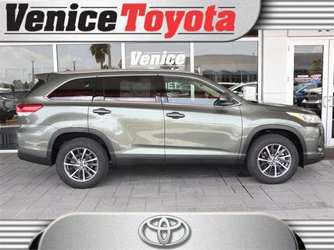 2019 Toyota Highlander for sale in South Venice, FL