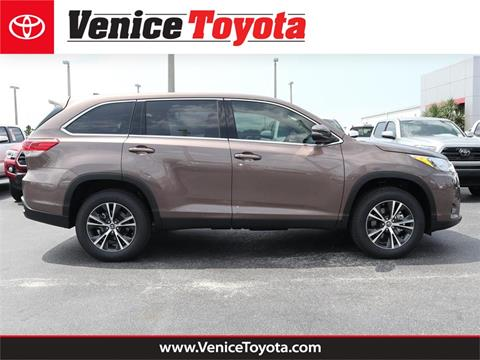 2019 Toyota Highlander for sale in South Venice, FL