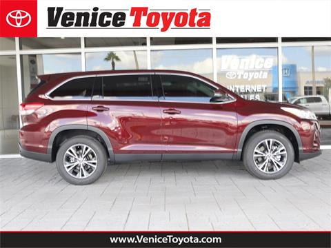 Toyota Danville Il >> 2019 Toyota Highlander For Sale In South Venice Fl