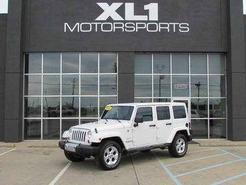 2013 Jeep Wrangler Unlimited for sale in Indianapolis, IN