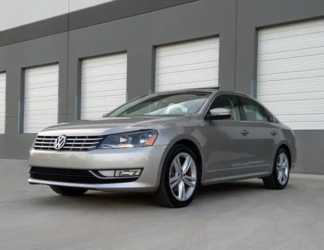 2013 Volkswagen Passat for sale in Mesa, AZ
