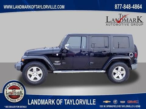 2010 Jeep Wrangler Unlimited for sale in Springfield, IL