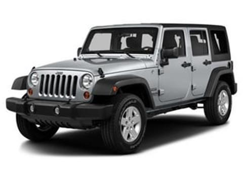 2016 Jeep Wrangler Unlimited for sale in Springfield, IL