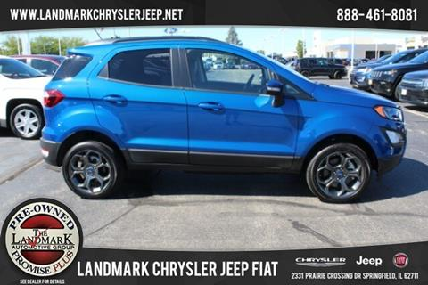 2018 Ford EcoSport for sale in Springfield, IL