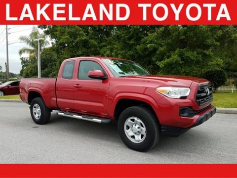 2016 Toyota Tacoma for sale in Lakeland, FL