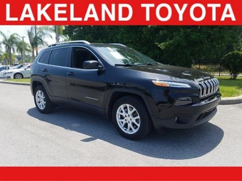 2018 Jeep Cherokee for sale in Lakeland, FL