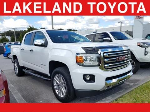 2016 GMC Canyon for sale in Lakeland, FL