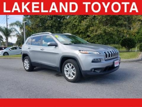 2017 Jeep Cherokee for sale in Lakeland, FL