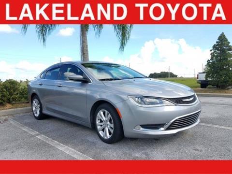 2016 Chrysler 200 for sale in Lakeland, FL