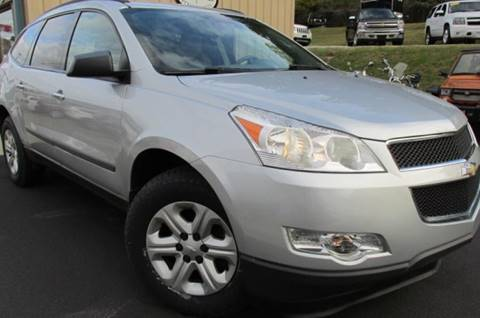 2012 Chevrolet Traverse for sale at W V Auto & Powersports Sales in Cross Lanes WV