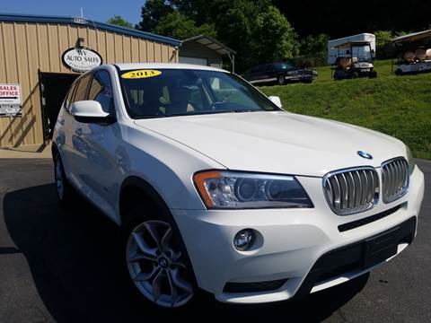 2013 BMW X3 for sale at W V Auto & Powersports Sales in Cross Lanes WV
