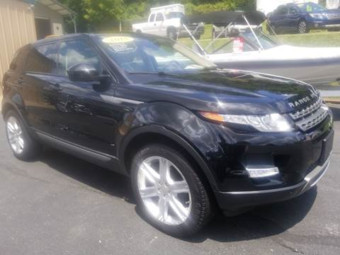 2015 Land Rover Range Rover Evoque for sale at W V Auto & Powersports Sales in Cross Lanes WV