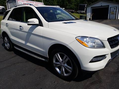 2013 Mercedes-Benz M-Class for sale at W V Auto & Powersports Sales in Cross Lanes WV