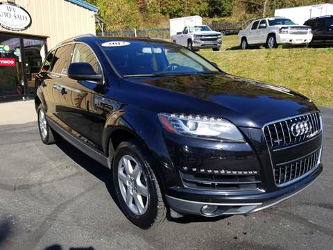 2012 Audi Q7 for sale at W V Auto & Powersports Sales in Cross Lanes WV