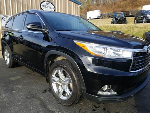 2015 Toyota Highlander for sale at W V Auto & Powersports Sales in Cross Lanes WV