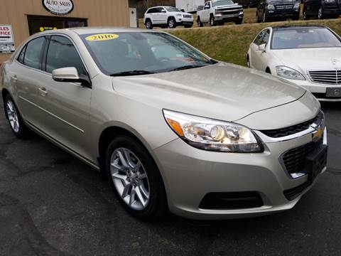 2016 Chevrolet Malibu Limited for sale at W V Auto & Powersports Sales in Cross Lanes WV
