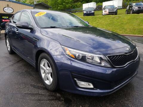 2015 Kia Optima for sale at W V Auto & Powersports Sales in Cross Lanes WV