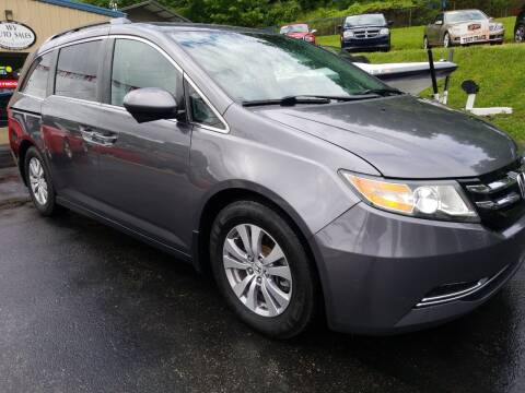 2014 Honda Odyssey for sale at W V Auto & Powersports Sales in Cross Lanes WV