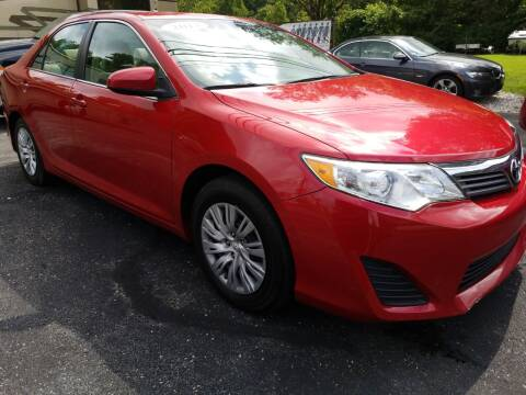 2013 Toyota Camry for sale at W V Auto & Powersports Sales in Cross Lanes WV