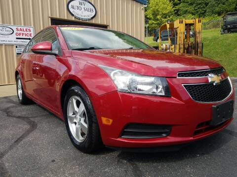 2012 Chevrolet Cruze for sale at W V Auto & Powersports Sales in Cross Lanes WV