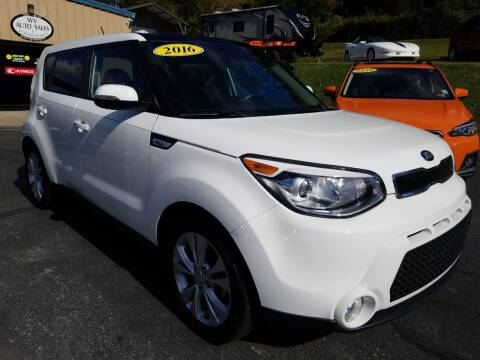 2016 Kia Soul for sale at W V Auto & Powersports Sales in Cross Lanes WV