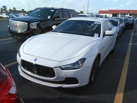 2017 Maserati Ghibli for sale in Orlando, FL