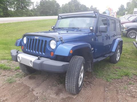 2009 Jeep Wrangler Unlimited for sale in Gladwin, MI