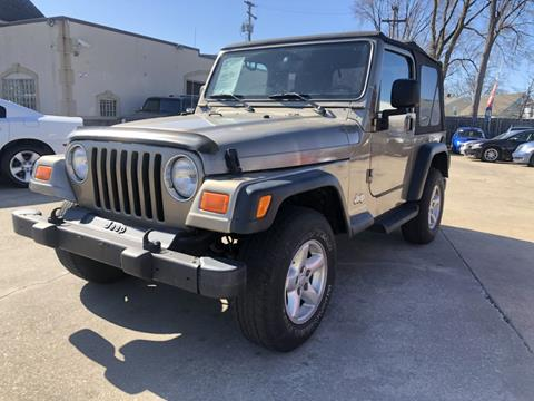 2003 Jeep Wrangler for sale in Parma, OH