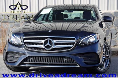 2017 Mercedes-Benz E-Class for sale in Marietta, GA