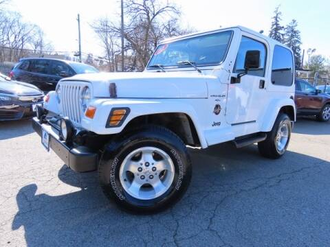 2000 Jeep Wrangler Sahara for sale at TARRYTOWN HONDA in Tarrytown NY