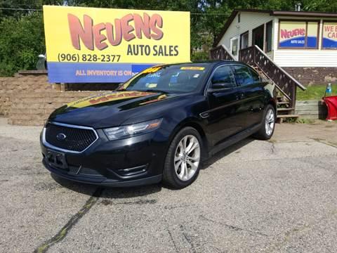 2013 Ford Taurus for sale in Iron Mountain, MI