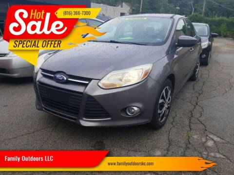2012 Ford Focus SE for sale at Family Outdoors LLC in Kansas City MO