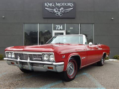1966 Chevrolet IMPALA SS 396 for sale at KMG Motors in Slidell LA