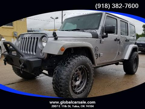 2014 Jeep Wrangler Unlimited for sale in Tulsa, OK