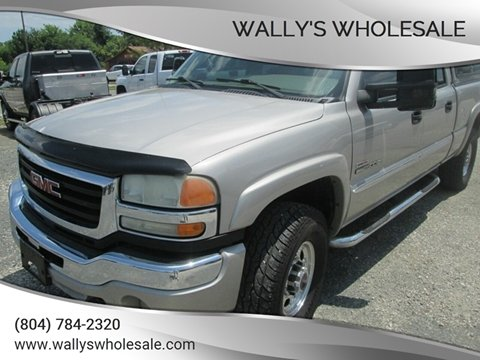 2004 GMC Sierra 2500HD for sale in Manakin Sabot, VA