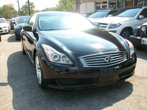 2009 Infiniti G37 Convertible for sale in Birmingham, AL