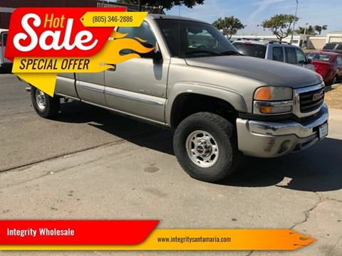 2003 GMC Sierra 2500HD for sale in Santa Maria, CA