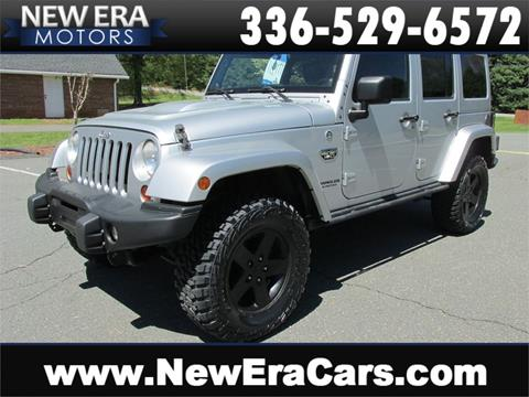 2012 Jeep Wrangler Unlimited for sale in Winston Salem, NC