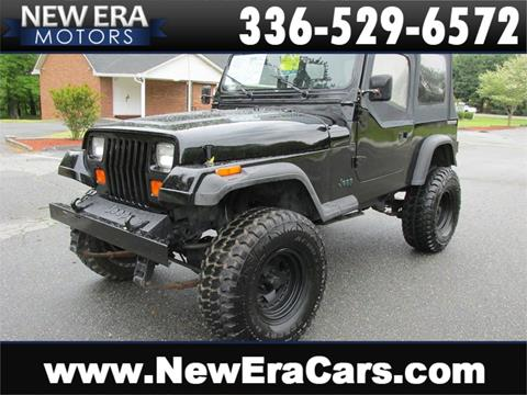 1989 Jeep Wrangler for sale in Winston Salem, NC