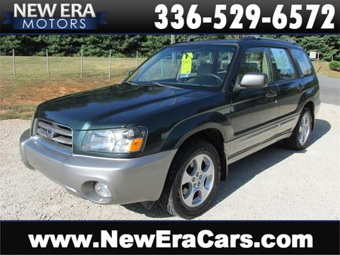 2003 Subaru Forester for sale in Winston Salem, NC